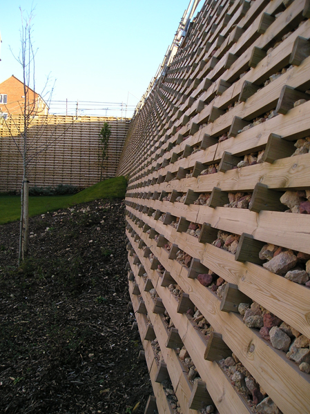 Cross Sections Timber Crib Retaining Systems